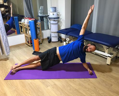 תרגילי פיזיותרפיה לחיזוק גב תחתון