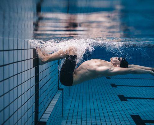 שחייה היא גם זמן נהדר לנקות את הראש מכל טרדות היומיום.